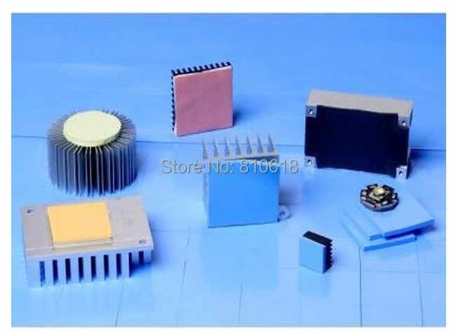 100mm * 100mm * 1.5mm Pad Nhiệt chất lượng cao GPU CPU Tản Nhiệt Làm Mát Dẫn Điện Silicone Pad