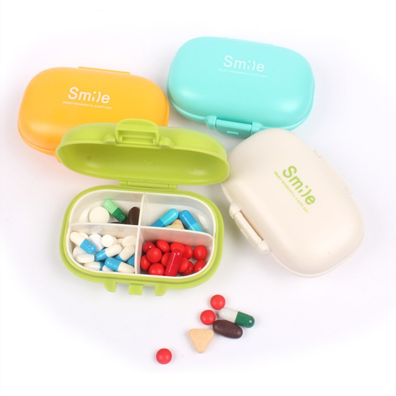 Portable Pill Case Pill Box Medicine Drug Holder Medicine Tablet