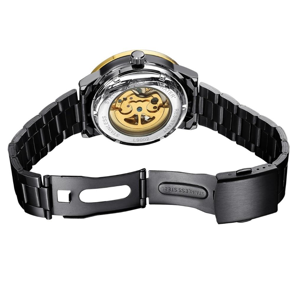 2018 Klassieke Horloges Heren Top Luxe Merk Hoge kwaliteit Skelet - Herenhorloges - Foto 5