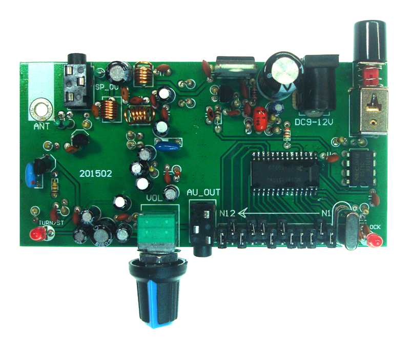 High Stability And High Fidelity PLL FM Receiving Board/FM Receiving Board/band Noise/stereo/radio Board