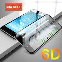 Suntaiho 6D Tempered Glass XS MAX Edge Full Curved Premium for iPhone XR 8 Plus Anti-Explosion Screen Protector for iPhone 7plus