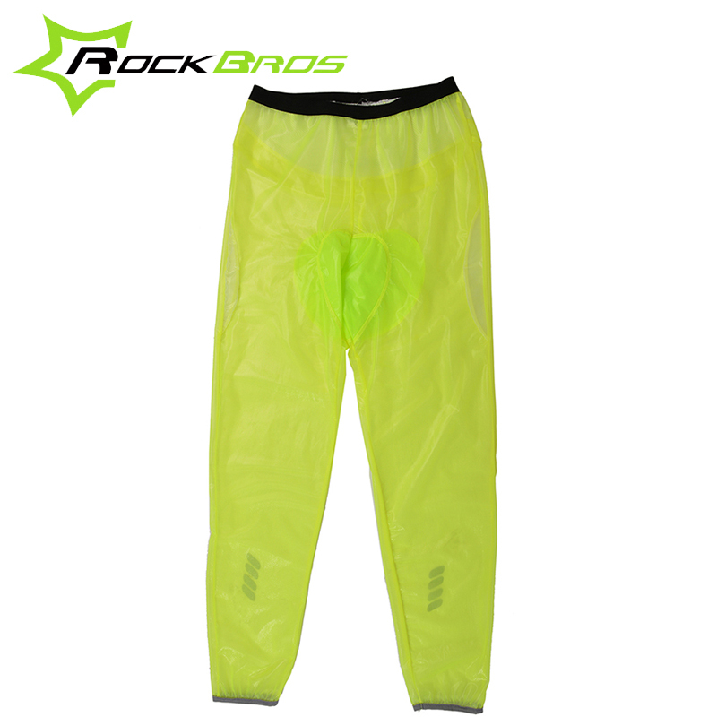 ROCKBROS MTB Bicycle Bike Rain Pants Windproof Breathable Compressed Windshield Cycling Outdoor Riding Rain Trousers 3 Colors