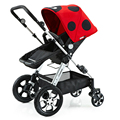 High Landscape Small Folding Stroller Portable Aluminum alloy Shockproof Baby Car Bidirectional wheel Can Sit Lying Stroller C01