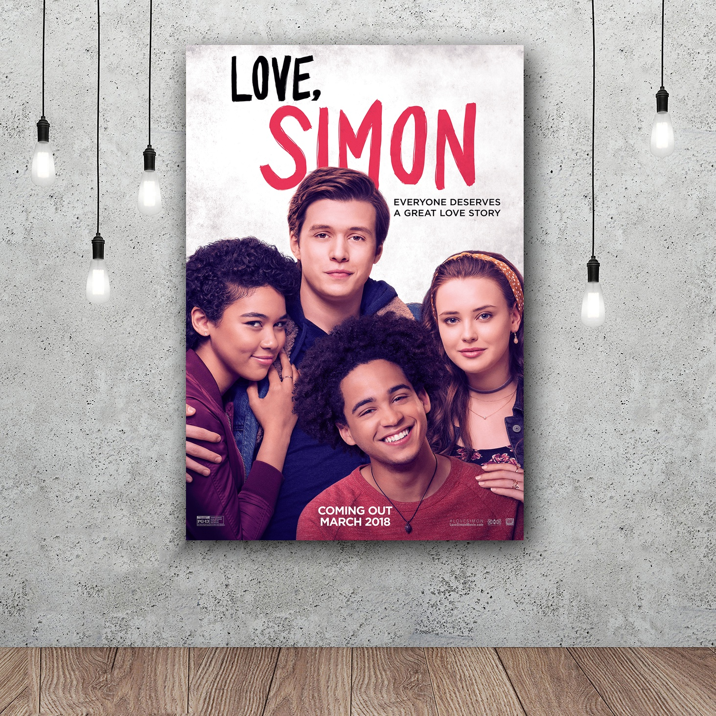 Love, Simon Art Silk Poster Home Decor 12x18 24x36inch