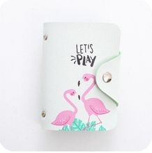 2018 Fashion PU Function 20 Bits Card Case Business Card Holder Men Women Credit Passport Card Bag ID Passport Card Wallet H084(China)