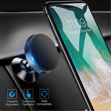 Magnetic Car Phone Holder For iPhone X Mobile Support voiture Stand Magnet in