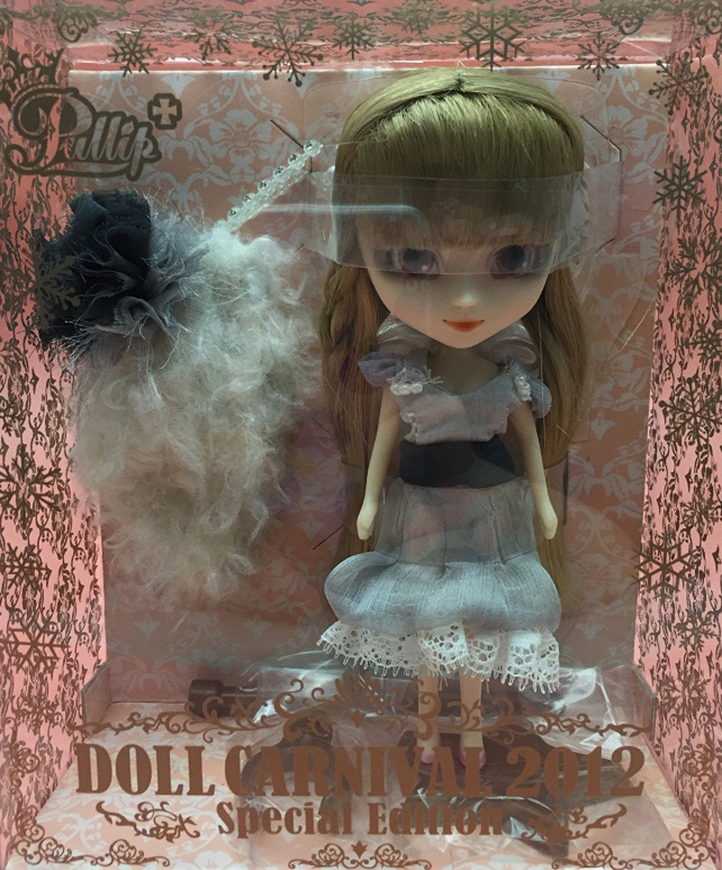 LITTLE PULLIP DOLL CARNIVAL 2012 SPECIAL EDITION With Box And Beautiful Dress Mini Doll  Girl Gifts Lovely Toy