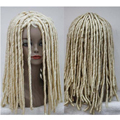 peruca hair queen Women's New Dreadlocks Gothic Style Long Curly Rolls Hair Cosplay Wig Kinky Peluca