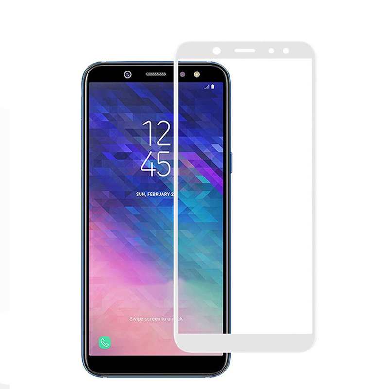 Protective Glass For Samsung A6 Plus 2018 A8 Tempered Glas Screen Protector On The Galaxy A 8 6 8a 6a A62018 A6plus <font><b>A82018</b></font> Film image
