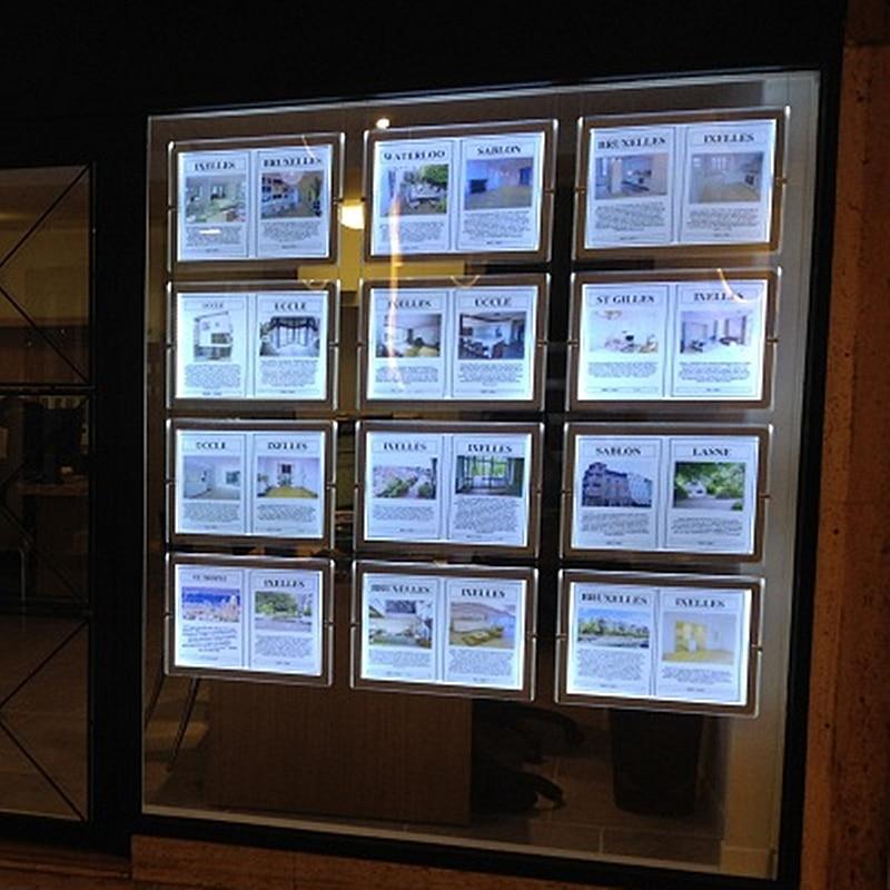 Light Shop Dublin Industrial Estate: LED Sign Display Real Estate Agent Light Box Hanging