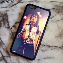 KETAOTAO Michael Jackson MJ Phone Cases for iPhone 4S 5C 5S 6 6S 7 8 Plus X for Samsung S4 5 6 7 8 Case Soft TPU Rubber Silicone