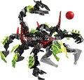 2015 nueva monster escorpión gigante de star wars hero factory montado bloques de construcción de plástico juguetes modelo regalo chilren