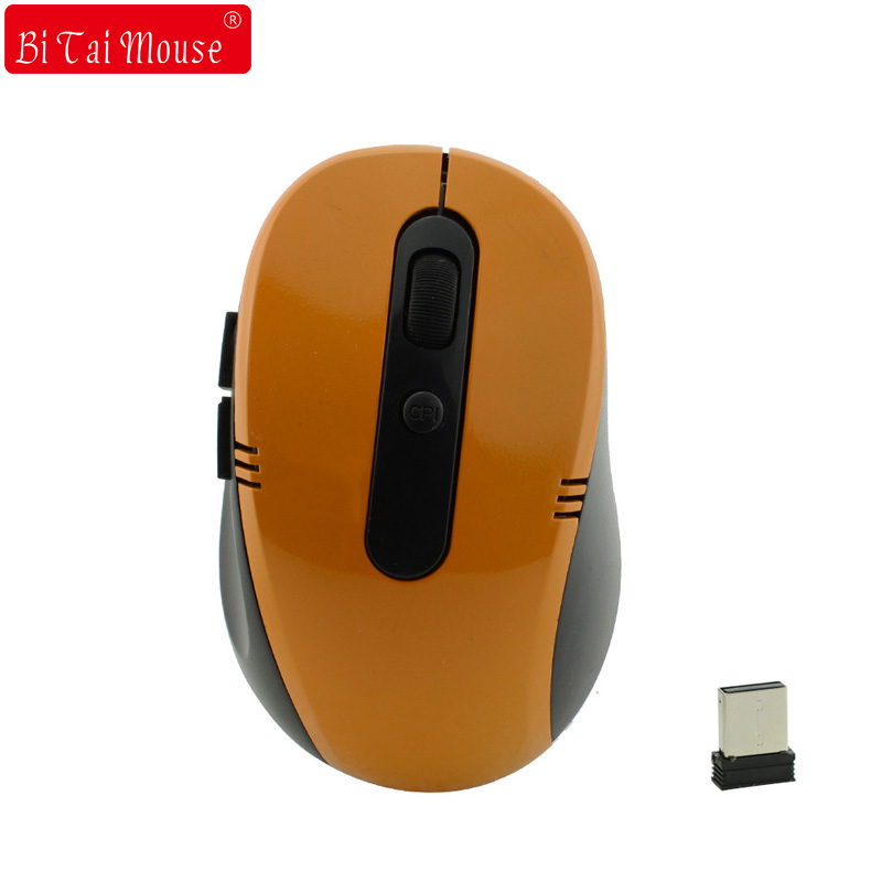Bts-7100 2.4Ghz Wireless Optical Mouse 5 Buttons 1600DPI 18 Month Battery Life, for Laptop Macbook Computer image