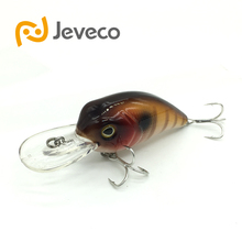 Jeveco JVC002 fishing lures Super Crank Fish Artificial Bait 52mm 10g 0 1 2m floating Fishing