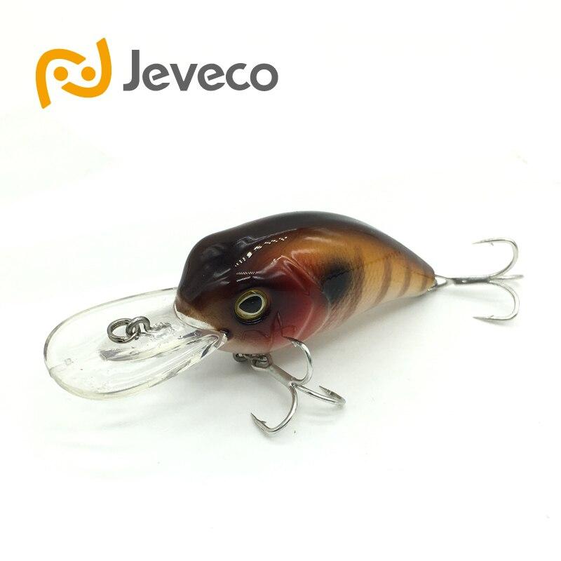 Jeveco JVC002 font b fishing b font lures Super Crank Fish Artificial Bait 52mm 10g 0