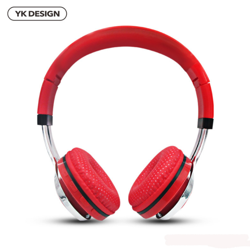 YK-H1 Wireless Bluetooth Headphones 4.1 Stereo Sport Headsets With Microphone Support TF Card FM Radio for iPhone for Samsung wireless headphones bluetooth 4 1 headset stereo earphone with microphone support tf card for iphone pc mobile phone eps33