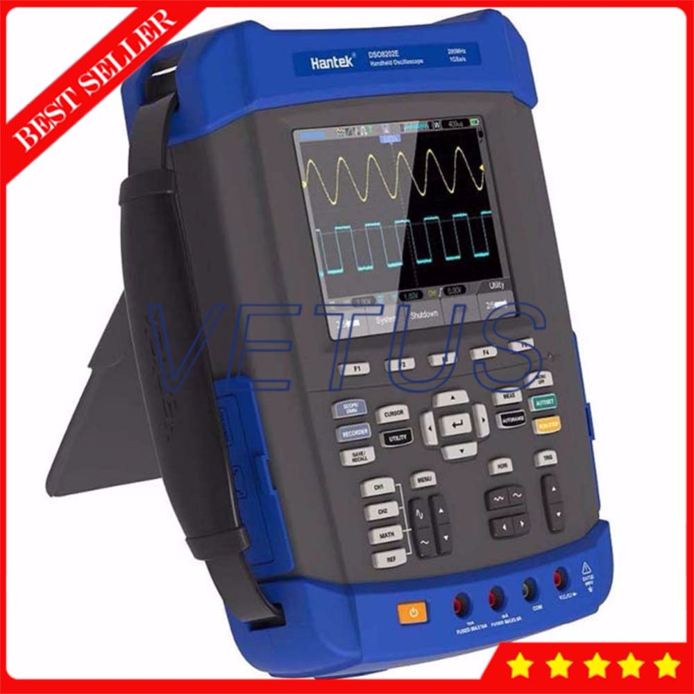 Hantek DSO8152E 6 in 1 USB Arbitrary Waveform generator Handheld Digital Oscilloscope Price with 150MHz DMM Spectrum Analyzer