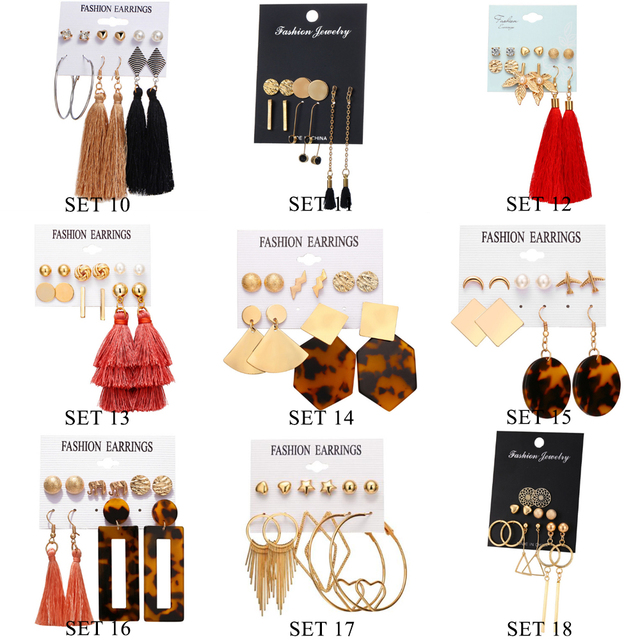 Earrings Sets 2