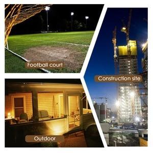 Image 5 - LED Flood Light Outdoor Spotlight Floodlight 10W 20W 30W 50W 100W Waterproof Garden Wall Washer Lamp Reflector IP65 AC 220V 110V