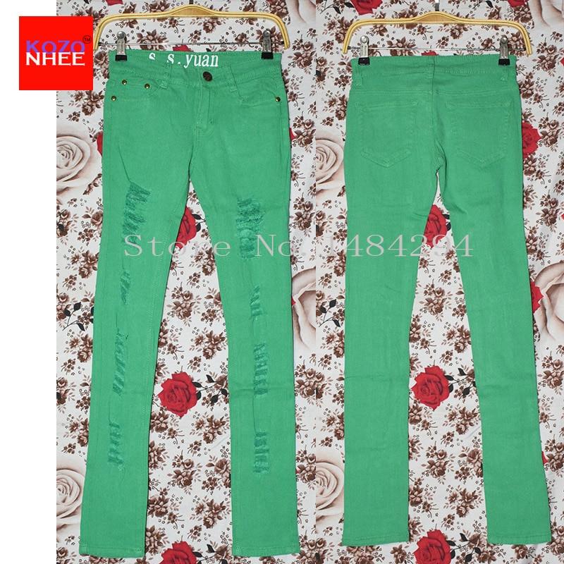 Xhinse të Shtruara me ngjyrosje të grave, të lodhura të stresuara - Veshje për femra - Foto 5