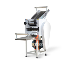 RS 40 Automatic Noodle Press 1500W Commercial Large scale Noodle Machine Good Quality High Speed Electric Dumpling Dough Sheeter