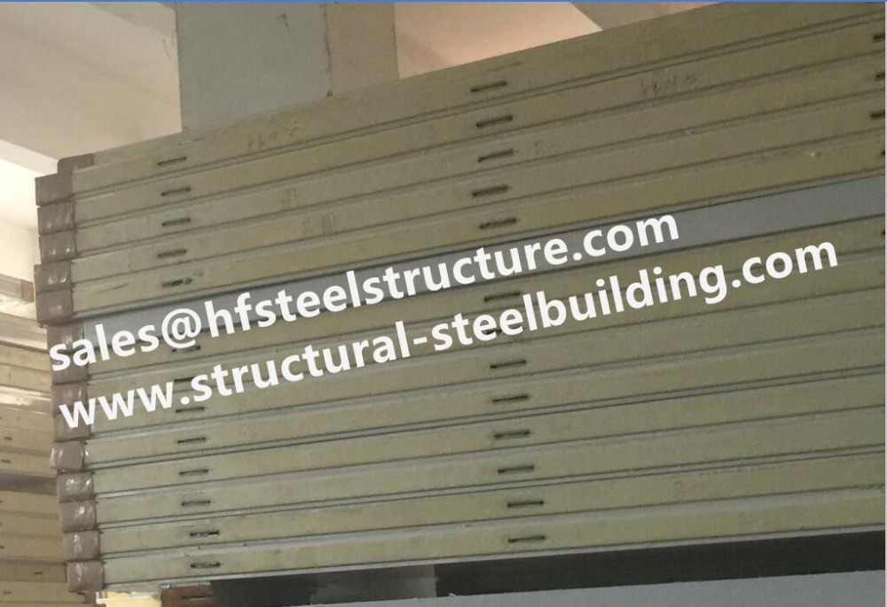 Refrigeration Pu Sandwich Panel For Cold Room And Wall Partition