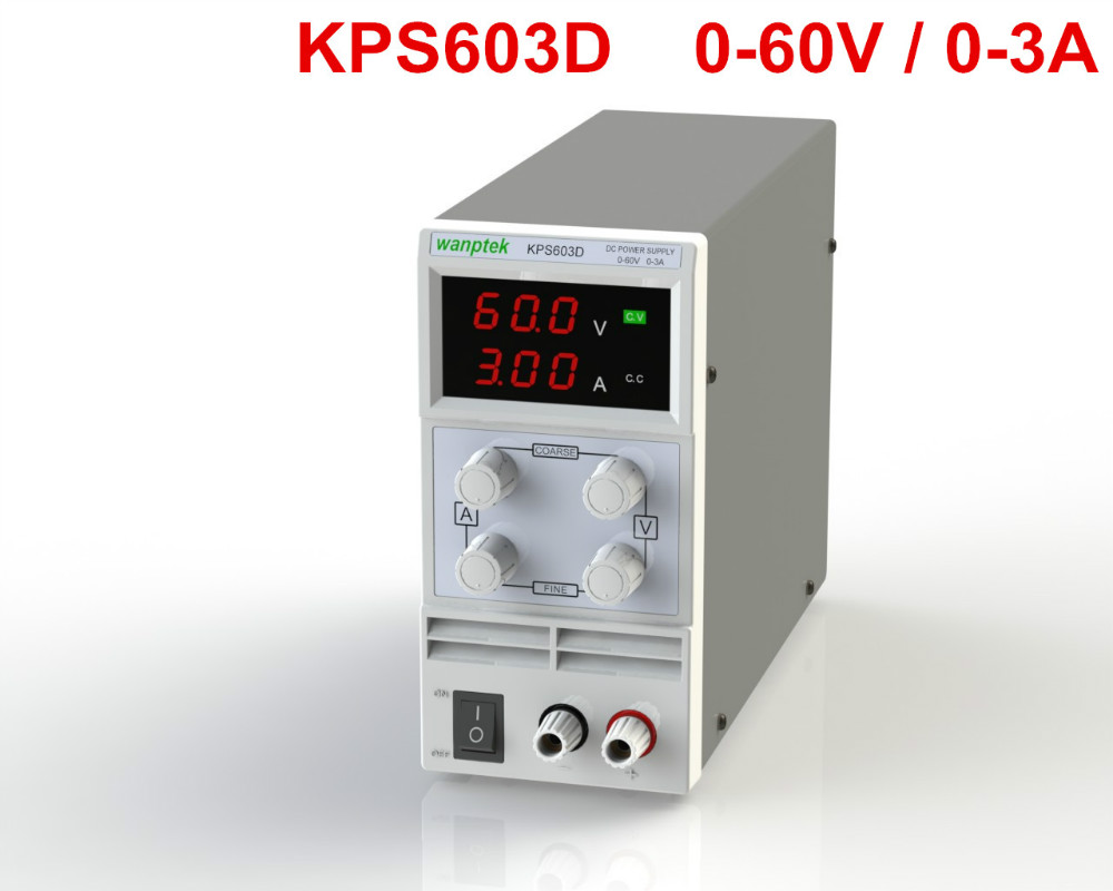 Newest mini switching DC power supply KPS603D 60V 3A Single Channel adjustable SMPS Digital 0.1V 0.01A DC power supply newest mini switching dc power supply kps605d 60v 5a single channel adjustable smps digital 0 1v 0 01a dc power supply