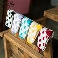 Small tadpoles pattern women socks Creative Cute  Cotton Sock ladies warm socks 5 pairs/lot
