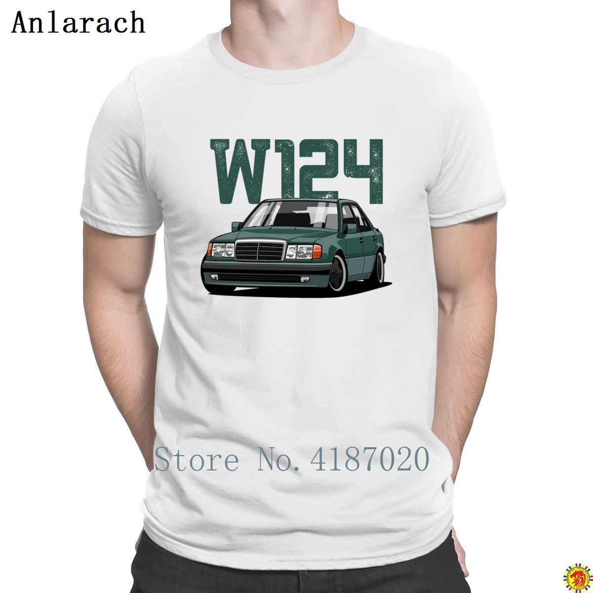 W124   T  -  Shirt   Funny Casual Hip Hop Standard Size S-3xl   T     Shirt   For Men Great Spring Autumn Designing Anlarach Hot Sale