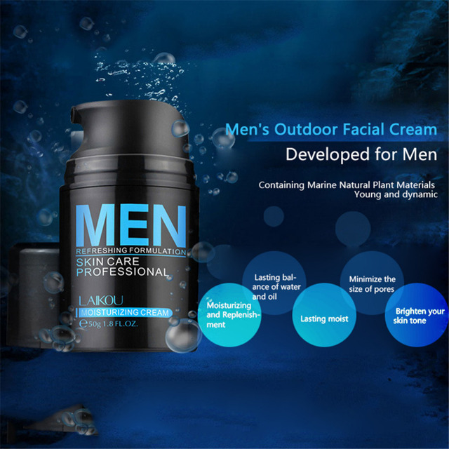 50g Brand Skin Care Men Deep Moisturizing Oil-control Face Cream Hydrating Anti-Aging Anti Wrinkle Whitening Day Cream 1