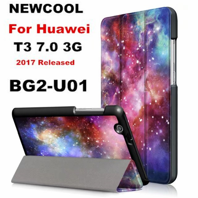 case for Huawei MediaPad T3 7.0 3G ,Painted Case for Huawei MediaPad T3 7 3G BG2-U01 BG2-U03 2017 NEW tablet case flip cover 3g модем huawei e122 3g usb dongle 7 2