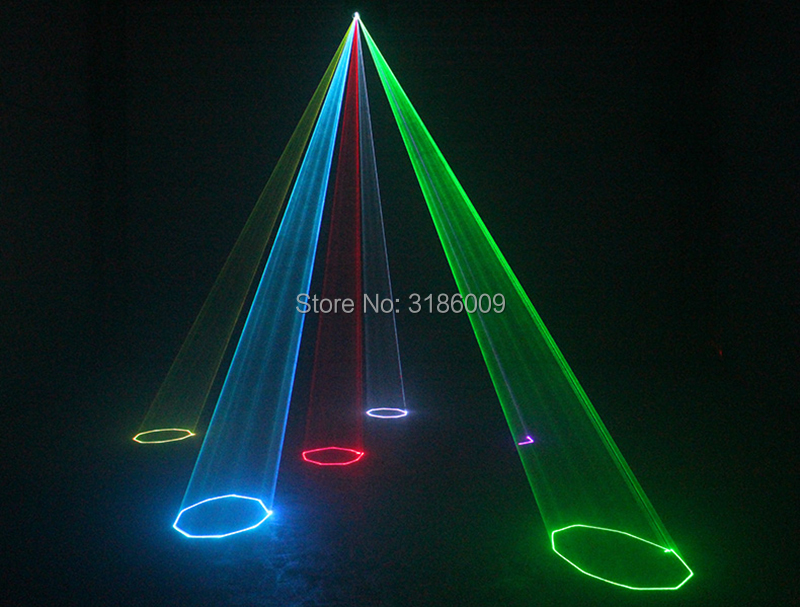 Dj laser disco 500mw linha dos desenhos