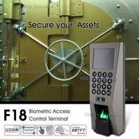 Système de Reconnaissance de Présence De Temps de Contrôle D'accès F18 ZKAccess3.5 Système de Sécurité USB Scanner D'empreintes Digitales avec SDK