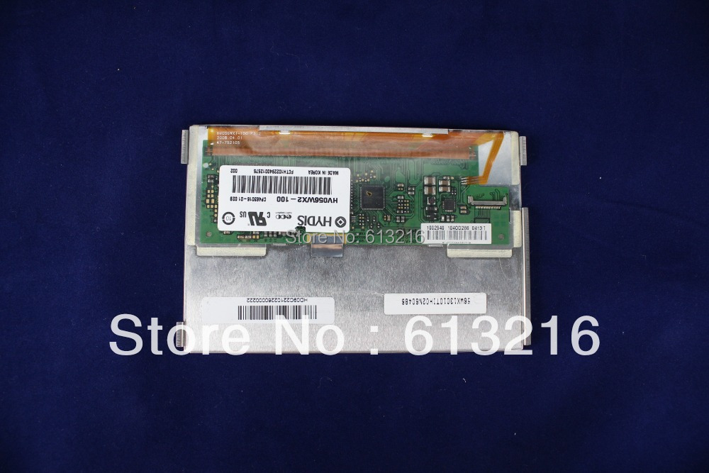 New 5.6 inch LCD panel HV056WX2-100/HV056WX1-100/LTD056EV7F support 1280*800