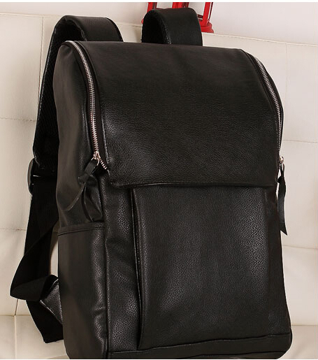ETN BAG hot sale men PU Leather backpack male fashion travel backpcack student school bag man casual travel bags leather bags male bag vintage cow leather school bags for teenagers travel laptop bag casual shoulder bags men backpacksreal leather backpack