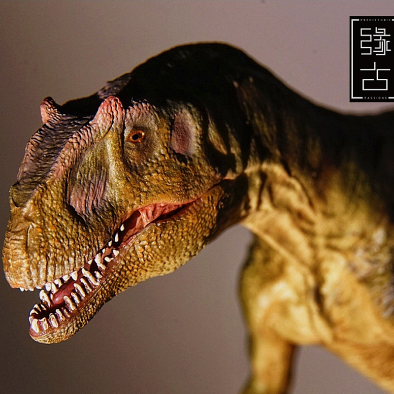 Beperkte Verkoop 300 sets Jurassic World Dinosaurus Model Allosaurus Speelgoed Collectie 1:35