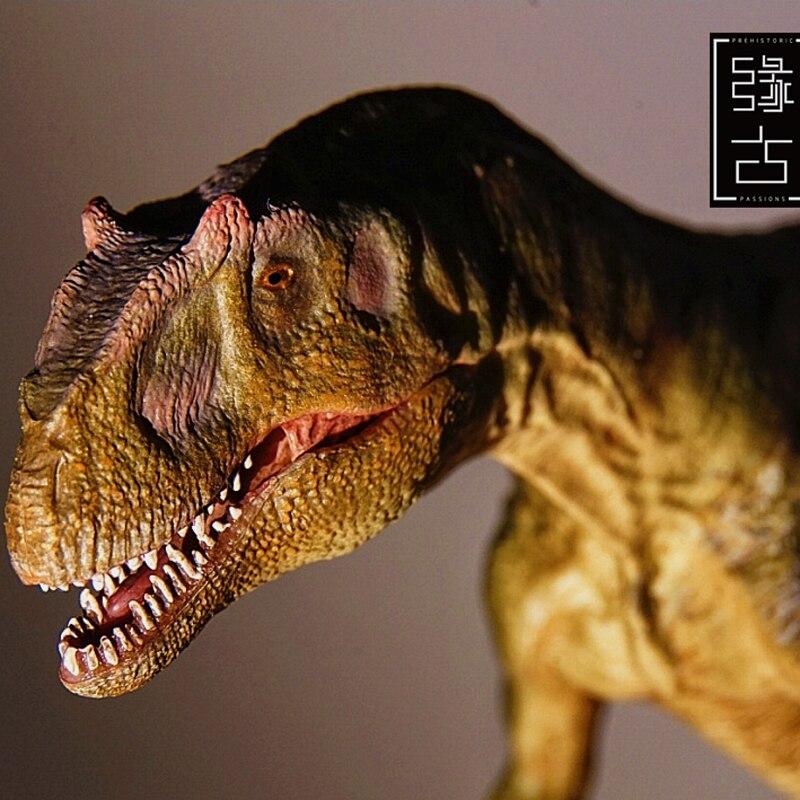Vendite limitate 300 set Jurassic Modello di Dinosauro Del Mondo Allosaurus Toy Collection 1:35