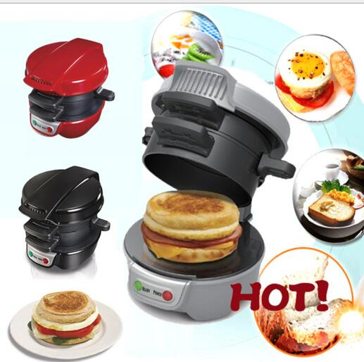 5 minutes Breakfast Sandwich Maker Hamburger Muffin font b Kitchenaid b font Cooking Tools Home Appliances