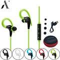 AmericaMander BT11 APTX estéreo de ALTA FIDELIDADE fones de ouvido de música MP3 fone de ouvido bluetooth 4.1 esportes fone de ouvido fones de ouvido sem fio para ios android