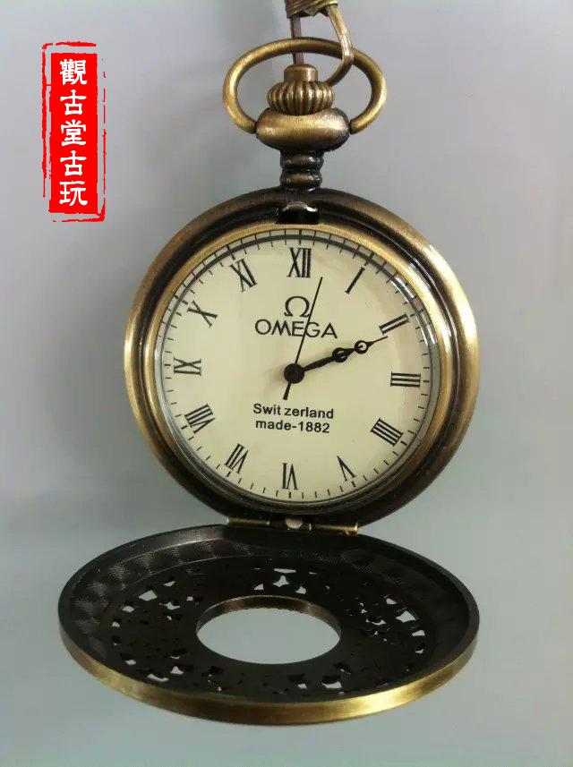 Ancient Hollow-out Omega Pocket Watch.