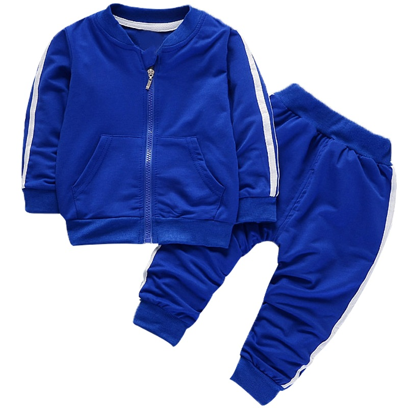 Fashion Spring Autumn Baby Boys Girls Cotton Sport set Jacket+pants 2pcs/sets Boys Tracksuit Baby Clothing Set Baby Set 2017 new cartoon pants brand baby cotton embroider pants baby trousers kid wear baby fashion models spring and autumn 0 4 years