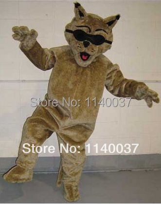 mascot Cougar Panther mascot costume custom fancy costume anime cosplay kits mascotte theme fancy dress carnival