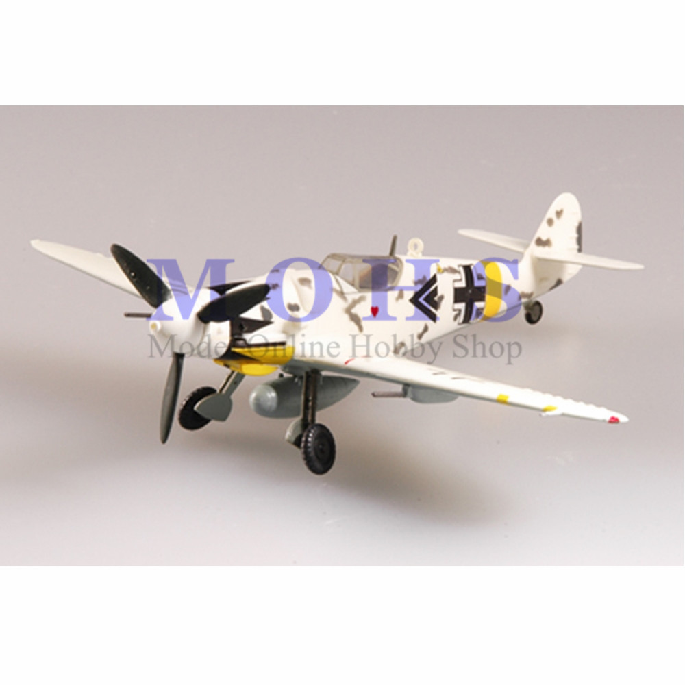 US $8 99 |EASY MODEL 37259 1/72 Assembled Model Scale Finished Model Scale  Airplane Scale WW II Warbird BF109 BF 109G 6 I  /JG53 1945-in Diecasts &