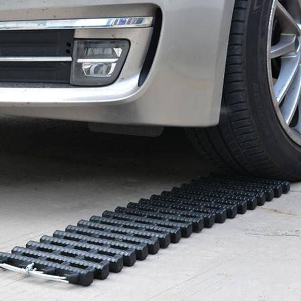 Aide à la Traction pistes voiture anti-dérapant Portable de type voiture sur chenilles véhicule poignée de pneu pistes de récupération tapis de Traction Pad échelle de sable