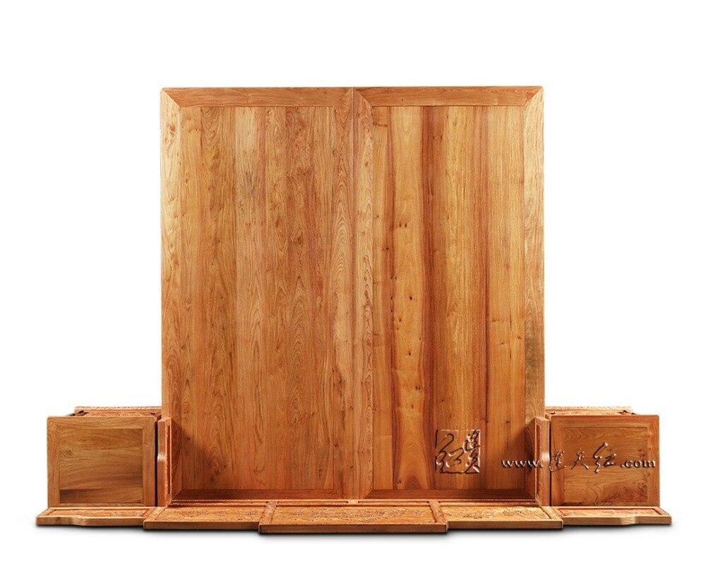 1,9*2,1 m rey completo marcos de cama camas de almacenamiento con ...