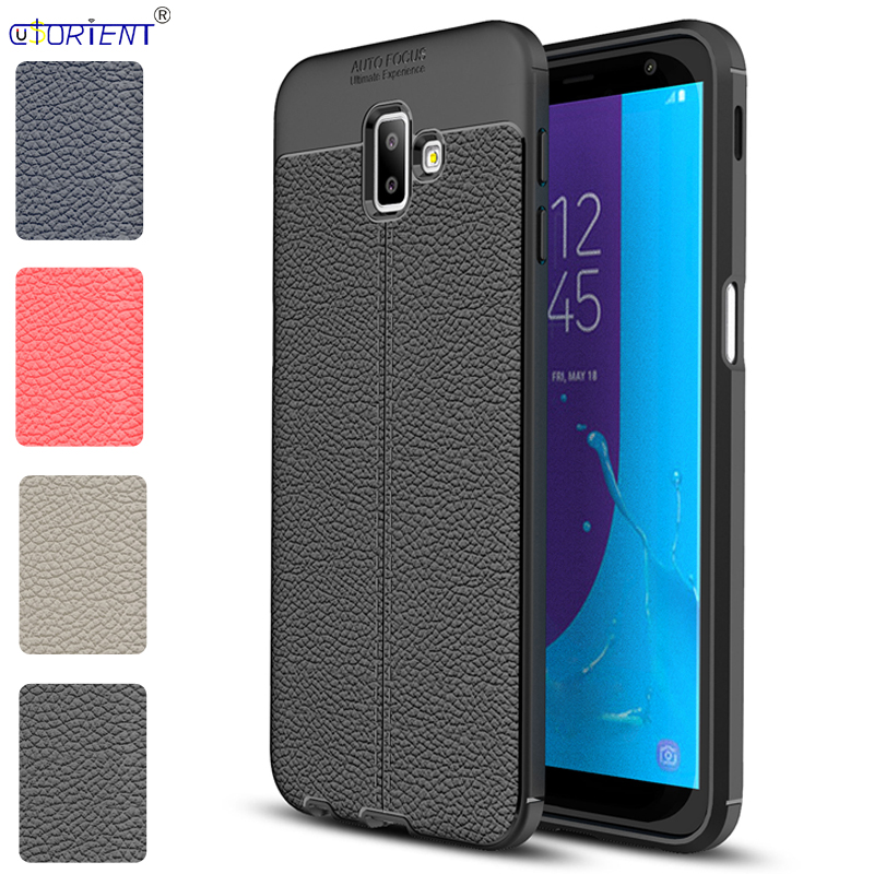 online store 17322 3b78d US $4.23 7% OFF|For Samsung Galaxy J6+ J6 Plus Shockproof Matte Case J610  SM J610FN/DS SM J610F/DS Soft Silicone Bumper Cover Fitted Phone Funda-in  ...