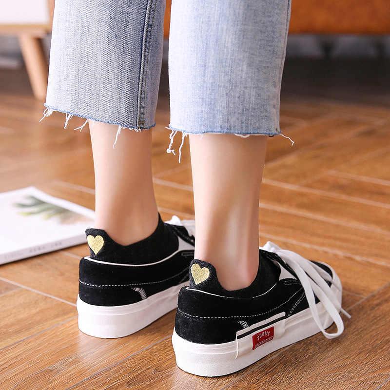 2019 Новая мода 1 пара милые носки с принтом в форме сердца женские весенние носки для девочек хлопок Цвет Новинка для женщин повседневные носки леди
