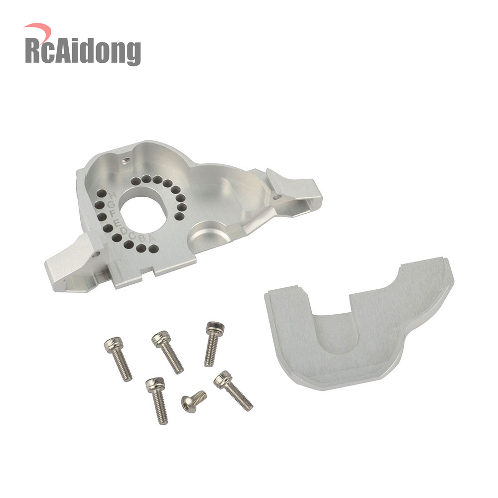 RC 1/10 Aluminum TRX4 Motor Mount Heat Sink for 1/10 RC Traxxas Trx4 TRX 4 Upgrade Parts TRX4 #8290-in Parts & Accessories from Toys & Hobbies