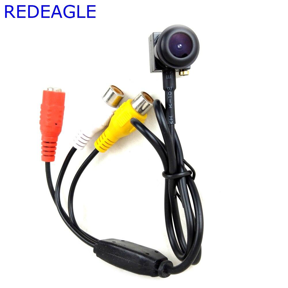 Aguila Roja 140 grados Fisheye cámara CCTV ángulo 700TVL Mini Home seguridad vigilancia Micro cámaras
