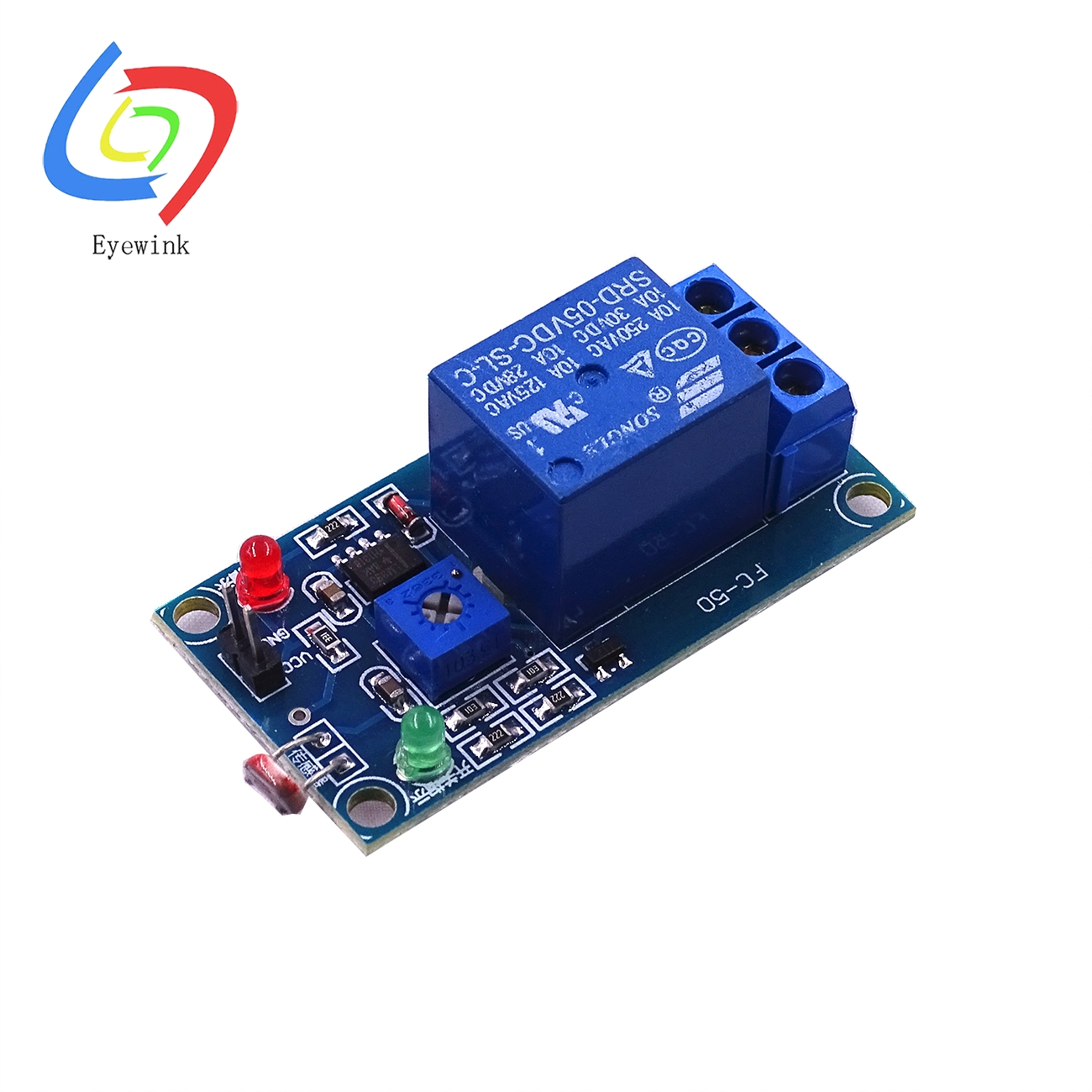 5v 12v Light Photoswitch Sensor Switch Ldr Photoresistor Relay Circuit Module Detection Photosensitive Board In Integrated Circuits From Electronic